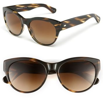 Women's Oliver Peoples 55mm Polarized Cat Eye Sunglasses