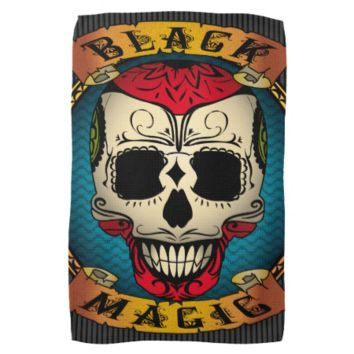 Black Magic Voodoo Towel