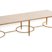 Rayelle Marble Cocktail Table, Coffee Table Base