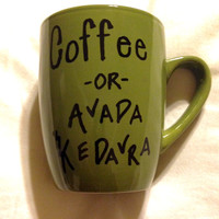 Harry Potter Coffee or Avada Kedavra Mug