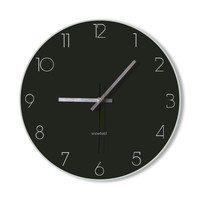 Wall Clock dark clock home decoration wall art modern simple clock bedroom living room office clock  clock