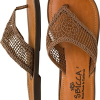 SBICCA SURFSUP WOVEN SANDAL