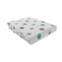 Kids Line Printed Crib Fitted Sheet