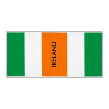 Binder with Flag of Ireland