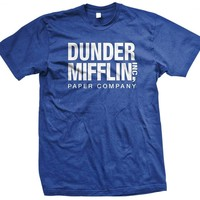 Dunder Mifflin Paper Inc T-shirt, The Office T-shirts, TV show T-shirts