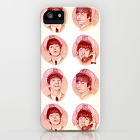 The Fab Four II iPhone & iPod Case by Helen Green