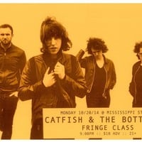 CATFISH AND THE BOTTLEMEN 2014 Gig POSTER Portland Oregon Concert
