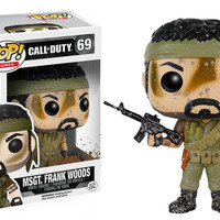 Pop! Games: Call of Duty - Msg. Frank Woods 69 Vinyl Figure (New)