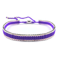 Purple Metal Choker