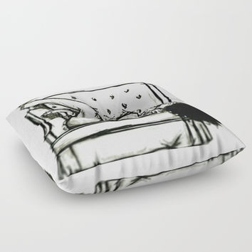 Queen Relax Floor Pillow by Crazy Daisy