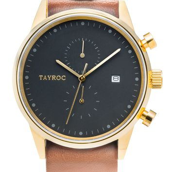 TXM090 - Tan Leather NATO