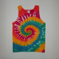 Tie Dye Swirl Shirt or Tank - Any Size (Adults and Kids), Style, & Color Combination Available