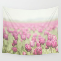 Tulip Wall Tapestry by Pure Nature Photos