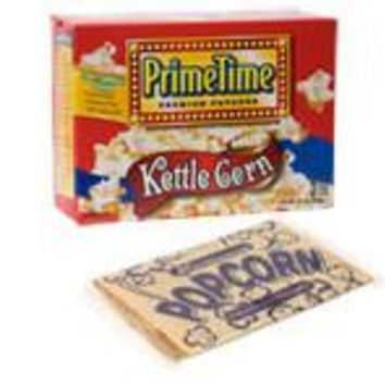 PRIME TIME MICROWAVE KETTLE CORN