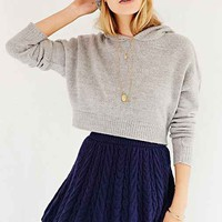 Kimchi Blue Flirty Cable-Knit Sweater