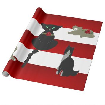 Picturesque Cats Wrapping Paper