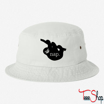 Nap Sloth bucket hat