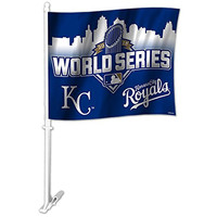 KC Royals 2015 World Series Car Auto Flag