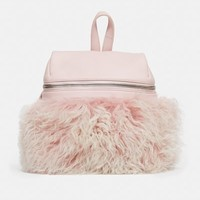KARA OC Exclusive Shearling Small Backpack - WOMEN - KARA - OPENING CEREMONY