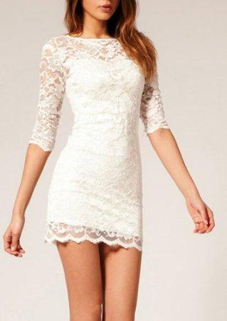 Full Lace Dress