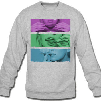 thats how i roll color Sweatshirt Crew Neck