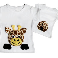 giraffe shirt giraffe tshirt animal tshirt girls giraffe shirt boy giraffe tshirt baby giraffe clothes giraffe clothing