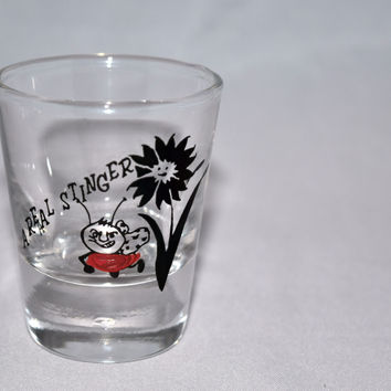 "Vintage Barware-Bartlett-Collins-""Stinger""-Shot Glass-2oz."