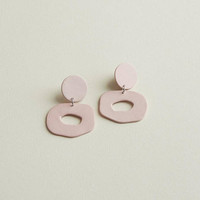 Small Cutout Dangle Earrings