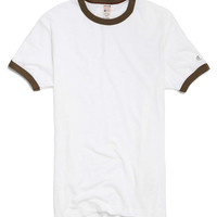 Short Sleeve Ringer Tee in Surplus
