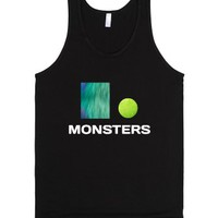Monsters Inc-Unisex Black Tank