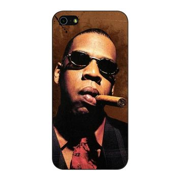 Jay-Z Cigar Glasses Tie Vest 01  iPhone 5/5S/SE Case