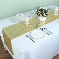 """12"""" x 72"""" Sparkly Sequin Table Runners For Wedding Event Party Event Banquet Table Decoration"""