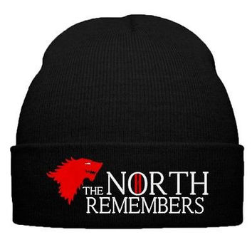 THE NORTH REMEMBERS BEANIE OR SNAPBACK HAT