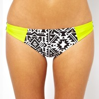 All About Eve Geo Print Hipster Bikini Bottom