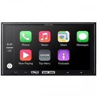 "Alpine 7"" A/V Receiver with Apple CarPlay"