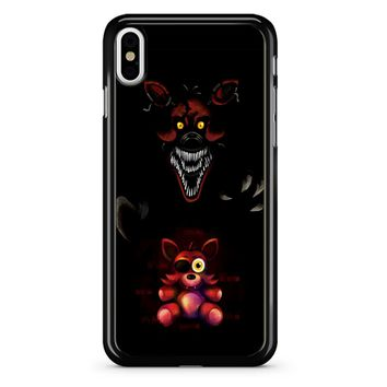 Five Nights At Freddy Fnaf 4 Nightmare Foxy iPhone X Case