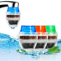 1 pc Coconut Carbon Home Household Kitchen Mini Tap Water Clean Purifier Filter Filtration