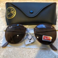 Ray Ban Womens Aviator Sunglasses New