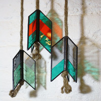 Stained Glass Fletching Elements (single or set of 3)