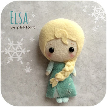 Elsa Felt Plush Toy - Frozen