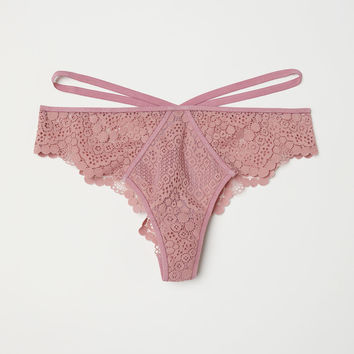H&M Lace Brazilian Briefs $12.99