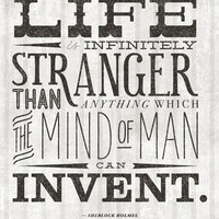 $16.00 Life Is Infinitely Stranger Art Print by Chirmer | Society6