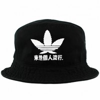 Trefoil Japan Bucket Hat - Agora Clothing