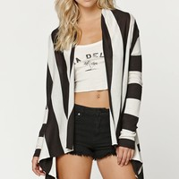 Billabong Seaside Dreamz Cardigan - Womens Sweater - Black - Medium