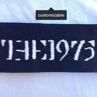 Custom Band / Lyrics Patch        -     Free Shipping in US