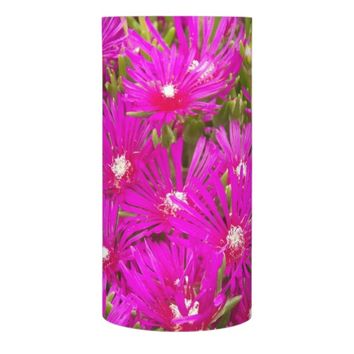 Spring Rhododendrons Floral Photo Flameless Candle