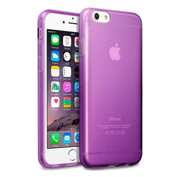 iPhone 6S Case, Terrapin [SLIM FIT] [Purple] Premium Protective TPU Gel Case for iPhone 6 / 6S - Purple