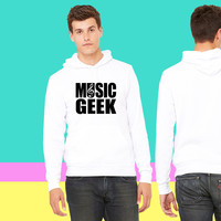 Music Geek sweatshirt hoodiee