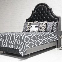 www.roomservicestore.com - Bel-Air Bed in Charcoal
