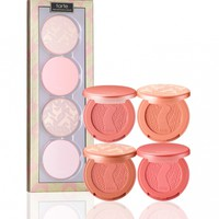 at first blush deluxe Amazonian clay blush set from tarte cosmetics
